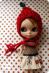 red hood and dress