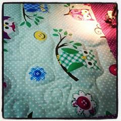 Como eu amo meu trabalho! (Joana Joaninha) Tags: love quilt amor coruja joanajoaninha flickrandroidapp:filter=none