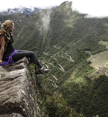 machu pichu (Oliver Polanski) Tags: travel sky mountains machu inca clouds america south pichu