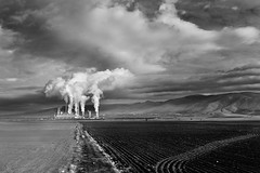 (Nick-K (Nikos Koutoulas)) Tags: field clouds stream factory greece dei ais   kozani   agiou dimitriou