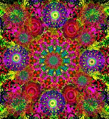 Good Karma (brillianthues) Tags: art digital photography colorful circles vivid kaleidoscope kaleidescope psychedelic awardtree vividimagionation