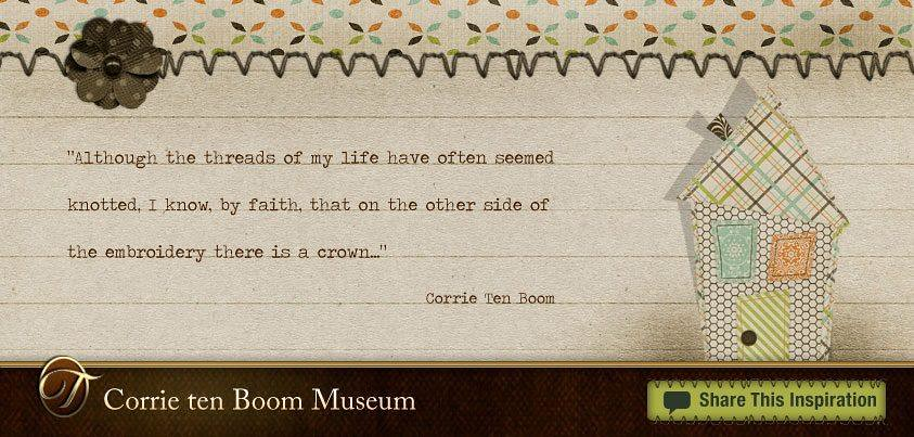 Corrie ten boom research paper