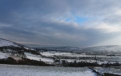 AT LAST!!! (craftedfromtheheart) Tags: uk winter sky mountain snow ice home clouds day explore valley gb northernireland derry castlerock explored colondonderry bigfreeze binevenagh craftedfromtheheart limavaddy photoshopcs6 amandakillen