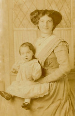 1910 (Abaraphobia) Tags: london child dress daughter mother 1910 camdentown edwardian smock claraupperton 18plattstreet