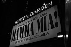 Mamma Mia! (koborin) Tags: mammamia broadway musical ny nyc newyorkcity newyork manhattan midtown travel blackandwhite black whiteblack whiteblackwhite bw monochrome