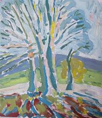 Tree study (Martin Beek) Tags: art observation landscape oxfordshire ipsden britishlandscape ipsdenlandscape201013
