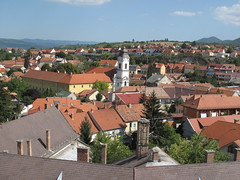 EGER - From the top of the Ottoman Minaret (Andra MB) Tags: summer holiday vacances hungary sommer minaret eger urlaub ungarn 2012 bahar magyarorszg minare vara hongrie vacanta concediu ungaria macaristan