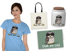 Owls are cool (birdorable) Tags: cute bird owl barredowl birdorable