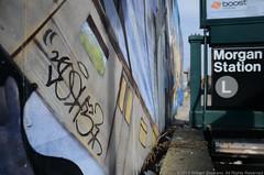 Josh5 (Turnstile Hopper) Tags: new york city nyc ny newyork brooklyn train graffiti 5 tag graf trains line josh l ltrain graff lline josh5