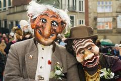 Karneval in Bremen (photophop) Tags: people germany 50mm duo karneval masken norddeutschland sambakarneval blaumeier