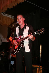 "Jim Barker of The Borderlines at the Boogaloo Promotions Rock 'n' Roll Weekend, Lakeside, 2006 • <a style=""font-size:0.8em;"" href=""http://www.flickr.com/photos/86643986@N07/8454448452/"" target=""_blank"">View on Flickr</a>"