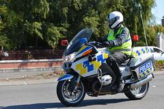 Coast to Coast 2013 Police Motorcycle Escort (KiwiMunted) Tags: christchurch saturday police motorcycle escort coasttocoast broughamst 2013
