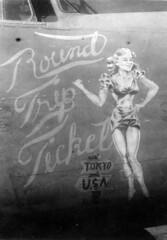 "Consolidated B-24J Liberator ""Round Trip Ticket"" (rjl6955) Tags: airplane pacific worldwarii consolidated ww2 bomber liberator 1944 newguinea secondworldwar worldwartwo usaaf b24j roundtripticket unitedstatesarmyairforce 22ndbombgroup 5thaf 22bg 33bs af42100193 33rdbombingsquadron"