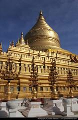 Shwezigon Paya, Nyaung U, Myanmar (JH_1982) Tags: travel building travelling tourism architecture canon religious eos gold golden pagoda spires burma religion sightseeing buddhism landmark tourist spire exotic u myanmar sight traveling paya spiritual tamron birma pagan bagan 18mm birmanie shwezigon nyaung birmania 270mm myanma 미얀마 60d mjanma jochenhertweck ประเทศพม่า