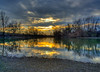 (DomiKetu) Tags: trees sunset sun reflection nature water clouds reflections river landscape landscapes nikon long exposure filter le romania nd hdr vr fader mures lipova 18105mm d5100 outstandingforeignphotographersvisitingromania