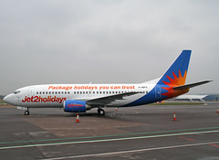 G-GDFO Boeing 737-3U3 Jet 2 Holidays (Keith B Pics) Tags: holidays boeing bournemouth southend sen 737 b737 jet2 egmc gthop atclasham jet2holidays packageholidaysyoucantrust ggdfo