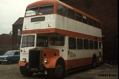 Bury Corporation GEN 212 (8860Brian) Tags: manchester transport corporation greater bury leyland selnec pd3 weymann