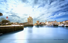 La Rochelle (Sebdows.Photography) Tags: blue sea sky tower tour larochelle stnicolas lachane