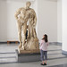 Lysippos, Farnese Hercules with Beth