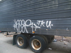 aser tku (TheRapLetterTechnician) Tags: philadelphia truck graffiti tag south graf philly aser bomb tagging tku bombing