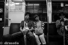 Subway Snooze (drmofo) Tags: japan subway tokyo snooze drmofo