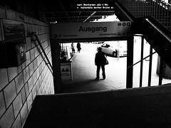 Ausgang (180Pixel) Tags: street bw sw wuppertal vohwinkel x10 fujix10