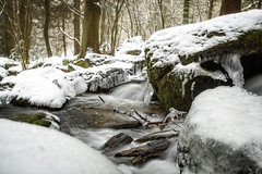 Hllbach im Bayerischen Wald (memories-in-motion) Tags: trees winter snow ice nature water forest landscape frozen waterfall wasserfall wald bume bayerischerwald landscapephotography brennberg landschaftsfotografie hllbach