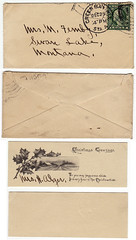 2-beautiful-minienvelope-s-quilled (TreasureTrovers) Tags: antiques inherited antiquepostcards needhelp identifystamps beautifulpostcard philatelicgems estatepostcard postcardcollectors scottgem estatestamps estatepostcardsale