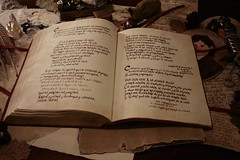 Libro Rojo de la Frontera Oeste - Red Book of Westmarch (Criatura del Bosque) Tags: red illustration book rojo sam map diary libro lotr hobbit mapa frodo tolkien quill bilbo baggins ilustracion anillos seor bolson