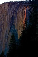 Yosemite National Park: Firefall (Don Sullivan) Tags: waterfall yosemite yosemitenationalpark elcapitan yosemitevalley horsetailfalls firefall canoneos5dmarkiii canonef70200mmf28lisiiusm