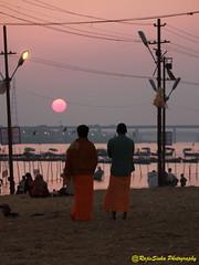 Evening at Kumbh (RajivSinha Photography) Tags: