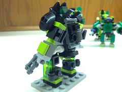 "HU-24 ""Kellhound"" Mk I (Foghammer) Tags: mobile hard suit frame mecha mof0 mfz flickrandroidapp:filter=none"