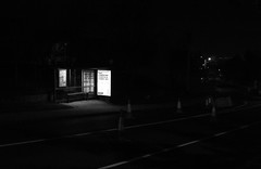 bus shelter (swingking85) Tags: night cork douglas x100