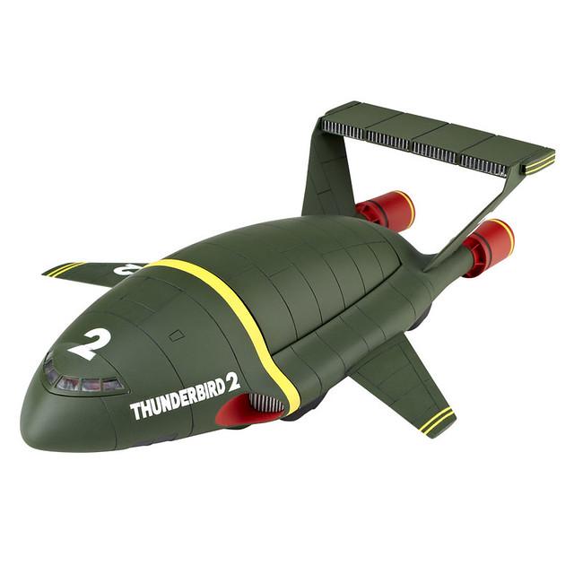 海洋堂 REVOLTECH  Thunderbird 2 雷鳥神機隊 2號機