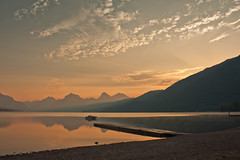 Natural treasure 1 (JoLoLog) Tags: usa lake mountains sunrise boat dock montana joe rockymountains glaciernationalpark gnp lakemcdonald canonxsi bestcapturesaoi mygearandme mygearandmepremium mygearandmebronze mygearandmesilver mygearandmegold mygearandmeplatinum mygearandmediamond