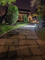 Trentham Church Vertorama (Raven Photography by Jenna Goodwin) Tags: light gardens night photography exposure stokeontrent lit staffordshire trentham vertorama noctography
