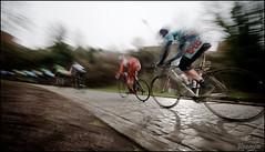 flying over the cobbles (kristof ramon) Tags: belgium lotto cobbles procycling pavé kramonbe frameriesdour206km cold2°c maximevekemanbel gpsamyn2013