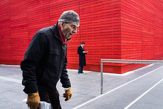 Southbank (Tomasz Kulbowski) Tags: uk red london reading streetphotography southbank se1 londonist explored fotografiauliczna