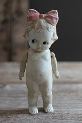 I love this darling antique jointed Bisque Doll (Abi Monroe) Tags: doll antique bisque german