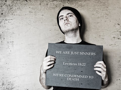 We Are Just Sinners [Music 1] (Andrew Schneider Goldstein) Tags: gay music love me sign poster death little you pride human rights sin homosexual gaypride humanrights six equality gayrights equal sinners homosexuality youmeatsix youmeatsixlittledeath