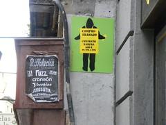 Paro calle Fuencarral
