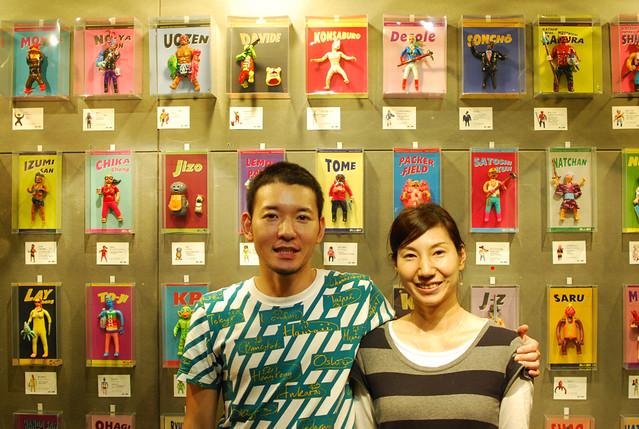 """Dehara Yukinori Exhibiton""""SATOSHI -  最後的上班族與明太君""""台北展覽"""