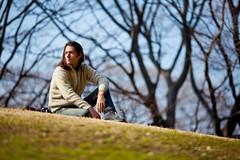 relaxing in the sun 2 (Lucas Shu) Tags: park light portrait japan afternoon expo natural plum osaka ume banpaku ilko allexandroff