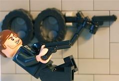 Skyfall (Dark Angel Enterprises) Tags: poster james lego contest bond skyfall brickarms