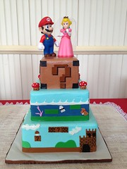 "super mario bros grooms cake small • <a style=""font-size:0.8em;"" href=""http://www.flickr.com/photos/60584691@N02/8546717803/"" target=""_blank"">View on Flickr</a>"