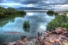 3 Mile Ck, Pallarenda (Phil Copp) Tags: sky water clouds creek island mangrove hdr townsville pallarenda 3mile