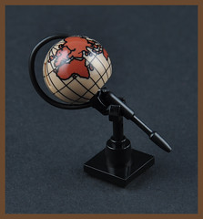 The Globe (H. P. Lovecrafts Study) (Xenomurphy) Tags: summer globe lego gothic providence study cthulhu lovecraft horror artifact author hplovecraft necronomicon moc oldones