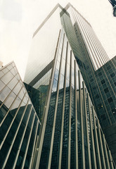 img013-VERTICALITY - UnitedWeStand (Arianna Lusci) Tags: new york reflection downtown manhattan verticality
