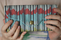 the Have It All Wallet (Needlework) Tags: fabricwallet handmadewallet straightstitchsociety haveitallwallet