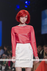 LMFF 2013 - R6 Cosmo - Lucette (Naomi Rahim (thanks for 5 million visits)) Tags: fashion female cosmopolitan model salmon australia melbourne docklands runway aw fashionweek lucette colorblock 2013 lmff lorealmelbournefashionfestival redwigs runway6 aw13 naomirahim